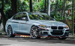 BMW 3-Series M Performance on Vossen Wheels (HF-3) 2019 года
