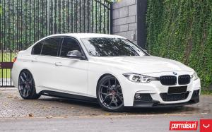 BMW 3-Series Sedan by Permaisuri on Vossen Wheels (HF-5) 2019 года