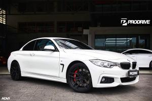 2019 BMW 420i Convertible by ProDrive on ADV.1 Wheels (ADV510 M.V2 ADVANCED)