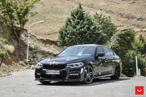 2019 BMW 530i Sedan M Sport on Vossen Wheels (HF-1)