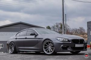 2019 BMW 6-Series Gran Coupe M Sport Package on Vossen Wheels (M-X2)