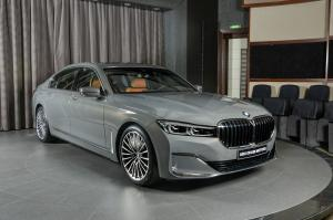 BMW 730Li Bernina Grey by Abu Dhabi Motors 2019 года