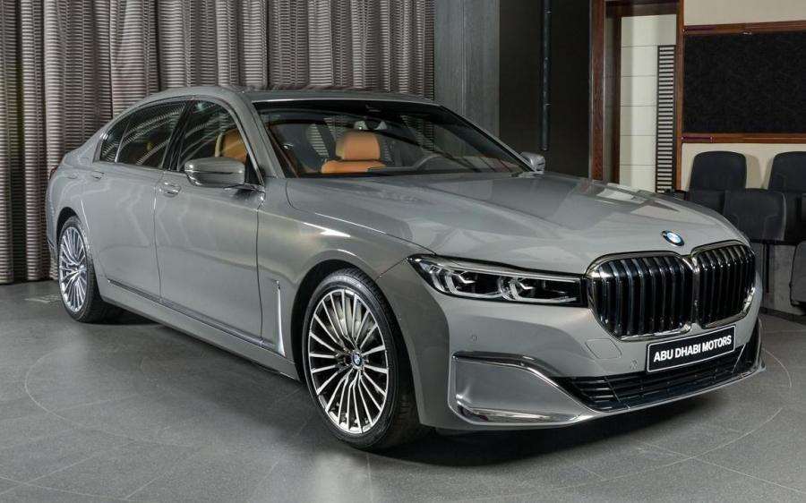 2019 BMW 730Li Bernina Grey by Abu Dhabi Motors