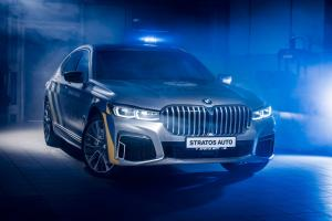 BMW 745Le xDrive M Sport Policie 2019 года