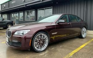 BMW 750Li xDrive on Forgiato Wheels (Cravatta) 2019 года