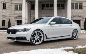 BMW 750Li xDrive on Forgiato Wheels (Drea-M) 2019 года