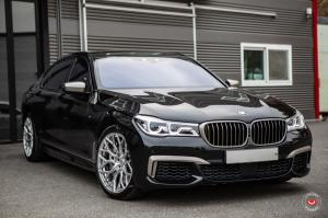 BMW 750i xDrive M Sport on Vossen Wheels (S17-01) 2019 года
