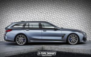 2019 BMW 8-Series Touring by X-Tomi Design