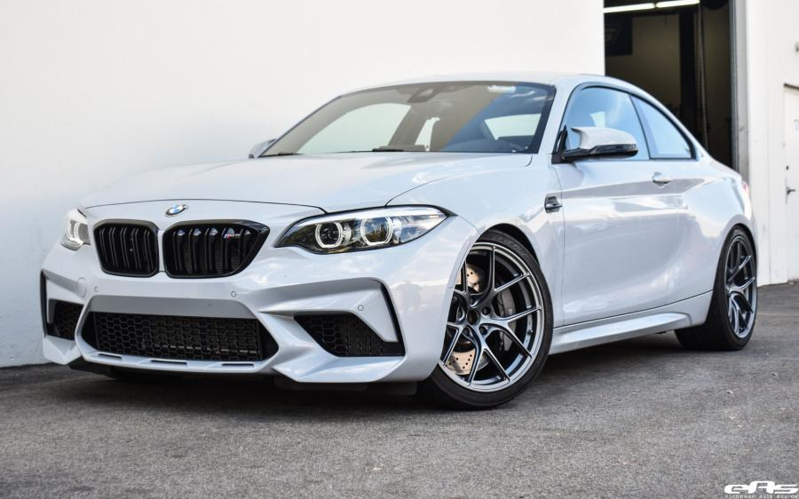 BMW M2 Competition Hockenheim Silver by EAS on Titan7 Wheels (T-S5s) (F87) '2019