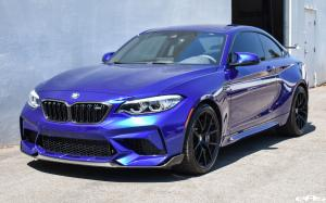 2019 BMW M2 Competition Individual San Marino Blue by EAS
