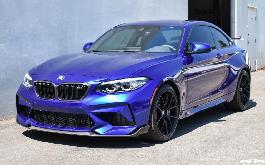 BMW M2 Competition Individual San Marino Blue by EAS '2019