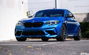 2019 BMW M2 Competition Long Beach Blue by EAS