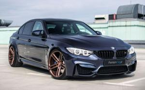 BMW M3 Sedan by Premium Felgi on Vossen Wheels (CG-202)