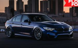 BMW M3 Sedan on HRE Wheels (FF10) 2019 года