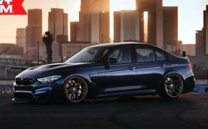 BMW M3 Sedan on HRE Wheels (FF11) 2019 года