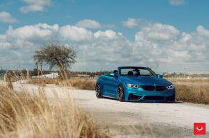 2019 BMW M4 Convertible on Vossen Wheels (HF-3)