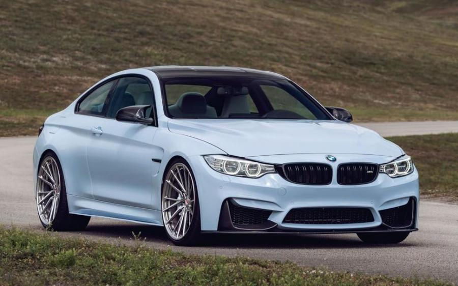 2019 BMW M4 Coupe on Vossen Wheels (M-X4T)