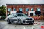 BMW M5 Competition on Vossen Wheels (HF-3) 2019 года