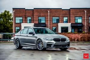 2019 BMW M5 Competition on Vossen Wheels (HF-3)