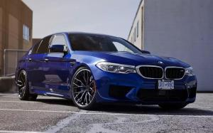 BMW M5 by SR Auto Group on PUR Wheels (RS29) 2019 года