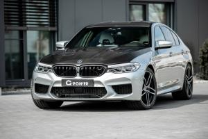 2019 BMW M5 with Carbon Hood by G-Power