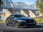 BMW M6 Coupe on ADV.1 Wheels (ADV5.2 TRACK SPEC ADVANCED) (Black Sapphire Metallic) 2019 года