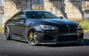 2019 BMW M6 Coupe on ADV.1 Wheels (ADV5.2 TRACK SPEC ADVANCED) (Black Sapphire Metallic)