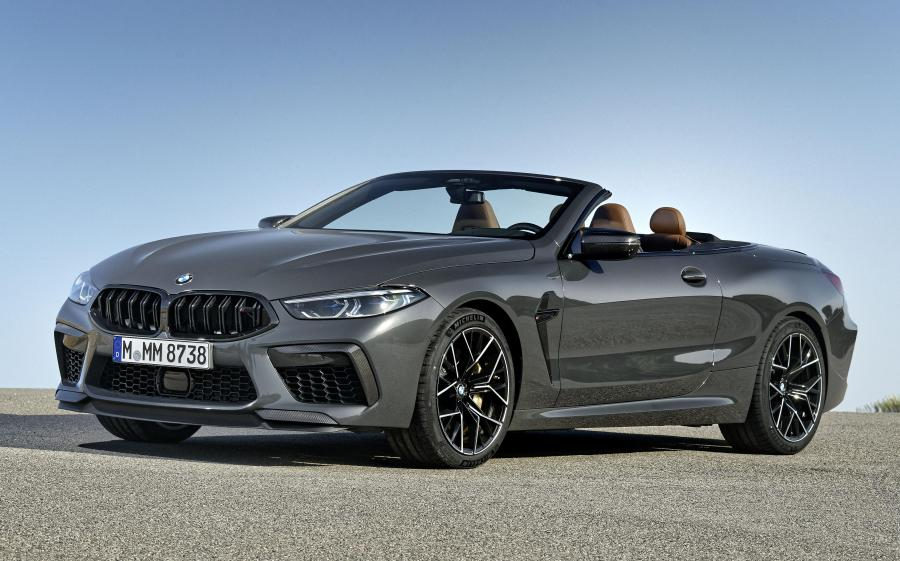 2019 BMW M8 Competition Convertible Brands Hatch Grey (WW)