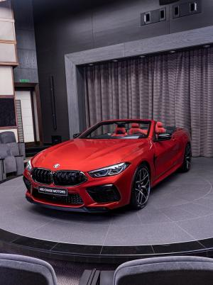 2019 BMW M8 Competition Convertible