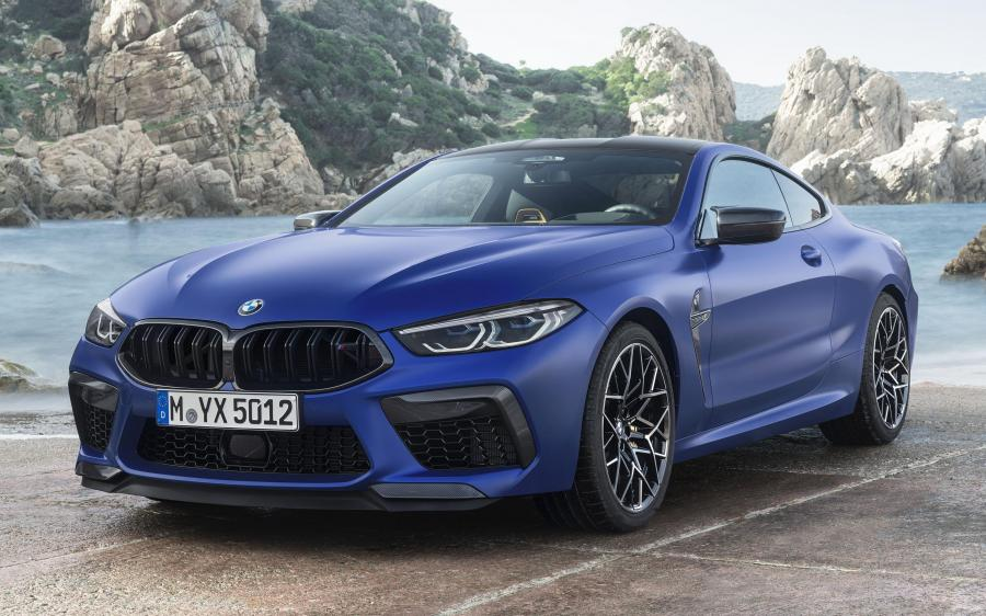 2019 BMW M8 Competition Coupe (WW)
