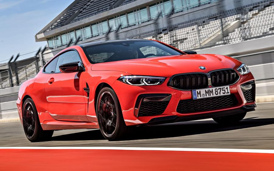 2019 BMW M8 Competition Coupe Fire Red (WW)