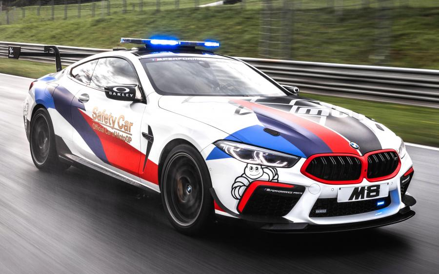 2019 BMW M8 Competition Coupe MotoGP Safety Car