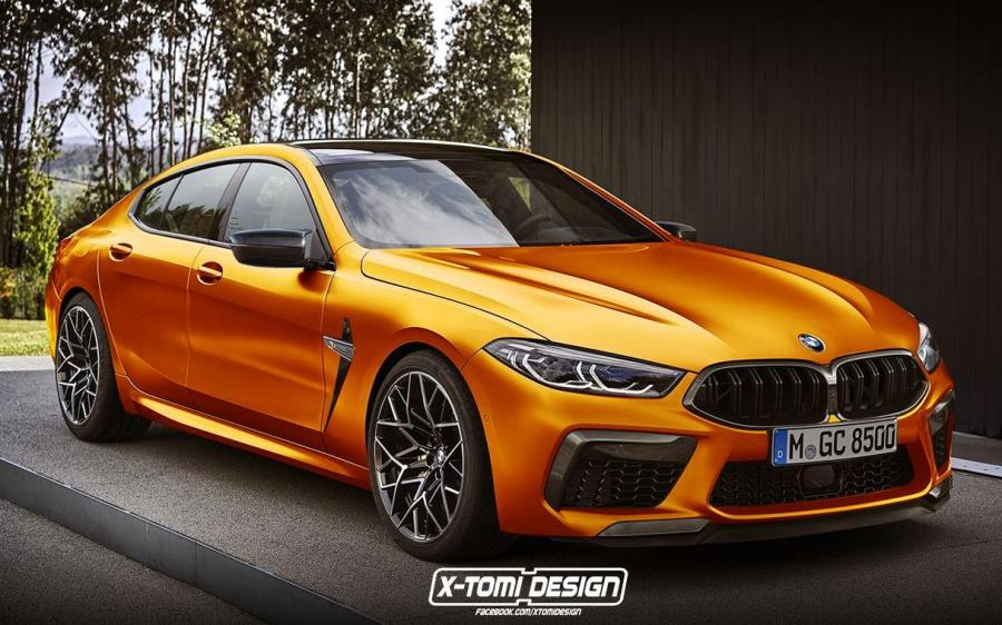 2019 BMW M8 Gran Coupe by X-Tomi Design