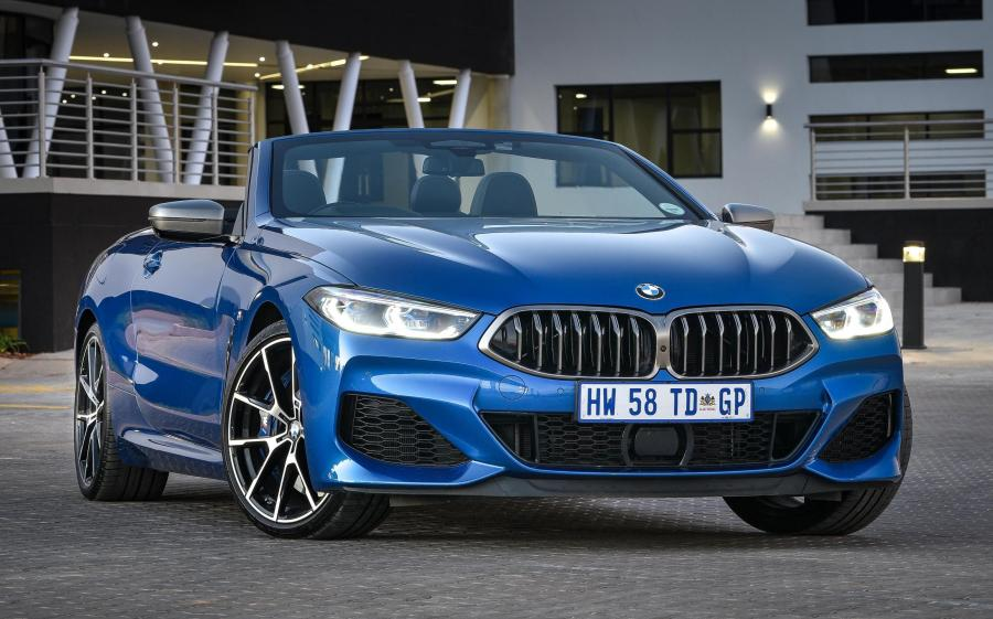 2019 BMW M850i xDrive Convertible (ZA)