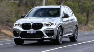 BMW X3 M Competition 2019 года