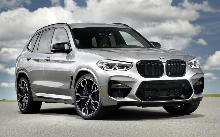 2019 BMW X3 M Competition (NA)