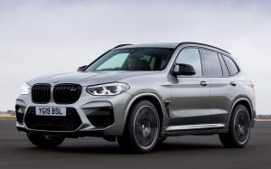 BMW X3 M Competition 2019 года (UK)
