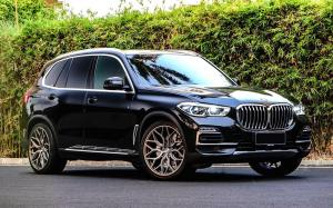 BMW X5 xDrive0i by Permaisuri on Vossen Wheels (HF-2) 2019 года