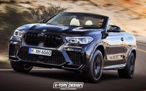 BMW X6 M Convertible by X-Tomi Design 2019 года