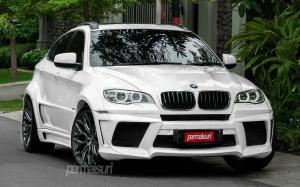 BMW X6 xDrive35i by Permaisuri on Vossen Wheels (HF-2)
