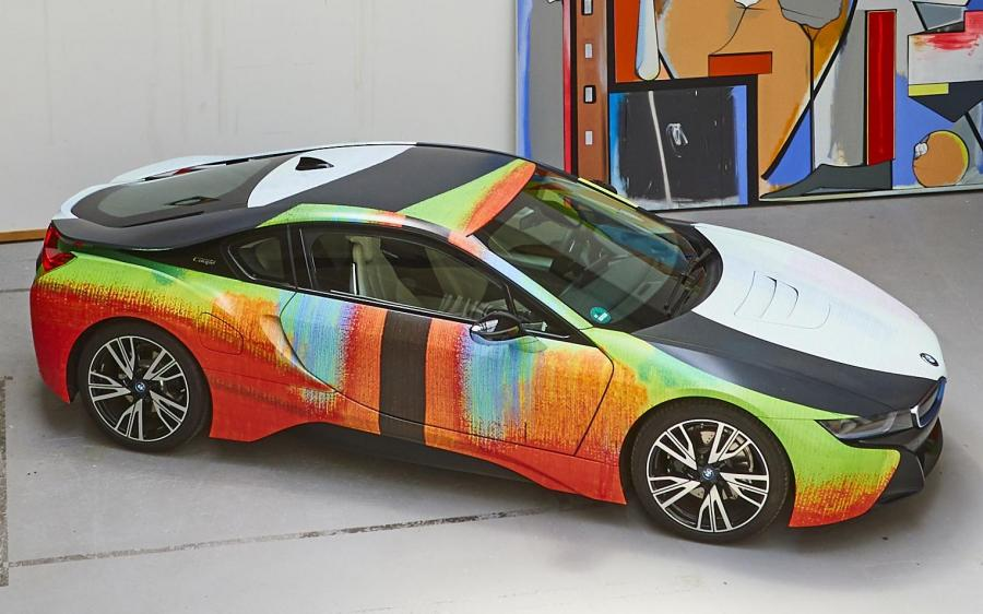 2019 BMW i8 Art Car by Thomas Scheibitz