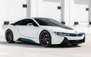 BMW i8 Coupe on Vossen Wheels (HF-3) 2019 года