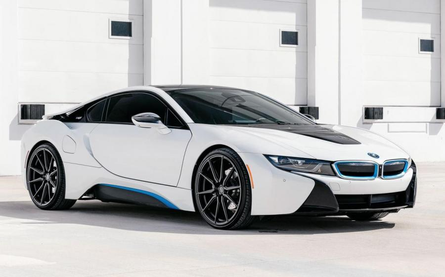 2019 BMW i8 Coupe on Vossen Wheels (HF-3)