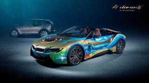 2019 BMW i8 Roadster 4 Elements Art Car by Milan Kunc
