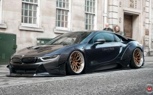 BMW i8 by Liberty Walk on Vossen Wheels (S17-01 (3-Piece)) 2019 года
