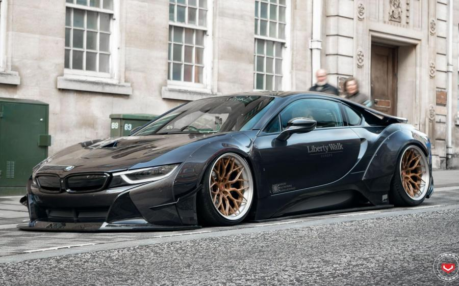 2019 BMW i8 by Liberty Walk on Vossen Wheels (S17-01 (3-Piece))