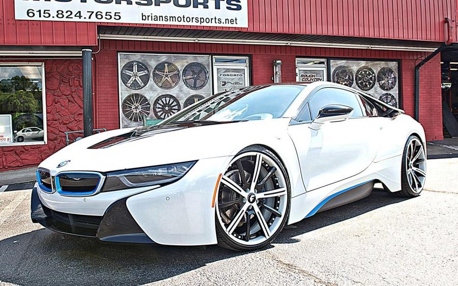 2019 BMW i8 on Forgiato Wheels (S220-ECL)