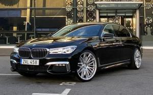 BMW 750i xDrive M Sport on Premier Edition Wheels (CS10 FF Tech)