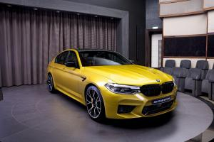 BMW M5 Competition 2020 года