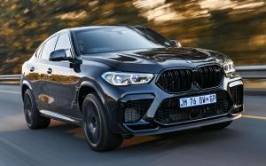 BMW X6 M Competition 2020 года (ZA)